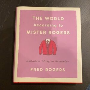 "New Mr. Rodgers ""world according to..."""